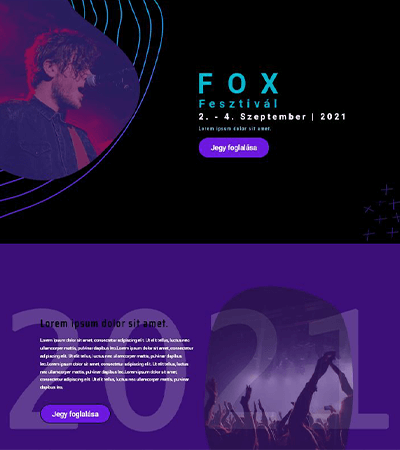 zenei-fesztivál-demo-screen-wordpres-weboldal