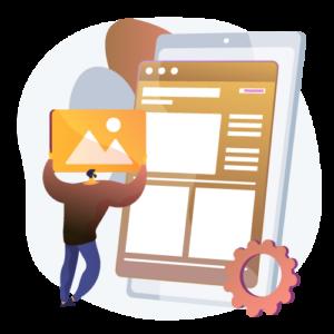 weboldal felújítás - lehetőségek - ikon