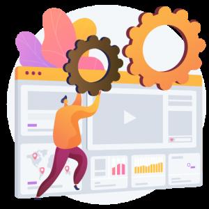 WordPress weboldal készítés folyamata