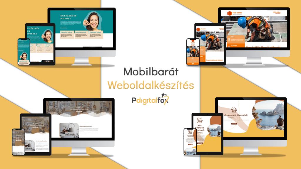 mobilbarát, responsive weboldalkészítés